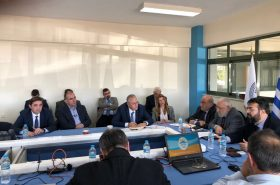 "Starting signal for the Mediterranean Beach Games ""Patras 2019"""