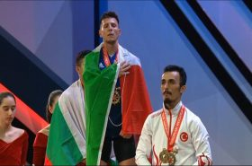 The Mediterranean countries won 42 medals at the European Weightlifting Championships