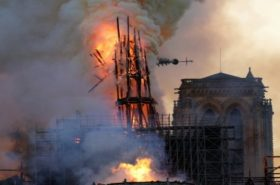 The International Olympic Committee will give 500,000 euros for Notre Dame
