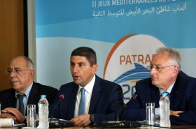 Η συνέντευξη Τύπου για τους Μεσογειακούς Παράκτιους Αγώνες της Πάτρας