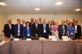 La réunion du Comité exécutif du CIJM à Patras