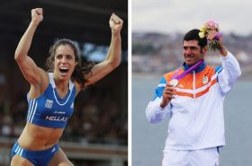 Stefanidi and Kontidis are candidates for the IOC Athletes' Commission