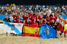 World Beach Games: Spain topped the medals table