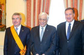 IOC President awarded highest Greek Order