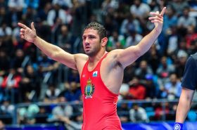 Amine makes San Marino wrestling history by qualifying for Tokyo 2020