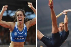 Stefanidi and Lavillenie were elected to the IAAF Athletes' Commission