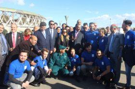 Αναδάσωση στο νέο Ολυμπιακό συγκρότημα και το Μεσογειακό Χωριό του Οράν