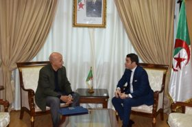 Amar Addadi met with the new Algerian Minister of Sports and Youth