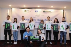 NOC Kosovo hosted a lecture providing general anti-doping knowledge