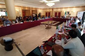 """Meeting of the Executive Committee of the Organizing Committee of the Mediterranean Games """"Oran 2022"""""""