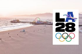 """The Organising Committee of the Olympic Games """"Los Angeles 2028"""" unveiled its Games emblem"""