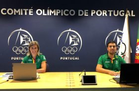 The online presentation of the Portuguese Olympic Committee