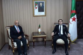 Amar Addadi met with the Algerian Minister of Youth and Sports