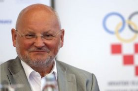 Re-election of Zlatko Mateša as President of the Croatian Olympic Committee