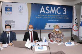 Η Ολυμπιακή Επιτροπή του Koσόβου ξεκίνησε το Προηγμένο Μάθημα Διαχείρισης Αθλητισμού