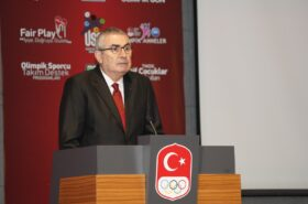 Uğur Erdener re-elected as President of the Turkish Olympic Committee