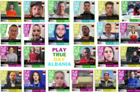 The NOC of Albania celebrated Play True Day