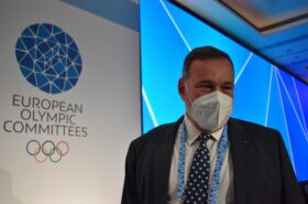 Capralos is the new President of the European Olympic Committees