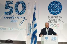 The EOC Order of Merit awarded to Kikis Lazarides