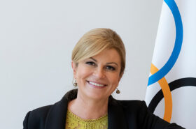 Kolinda Grabar-Kitarović announced as Chair of the Future Host Commission for the Games of the Olympiad